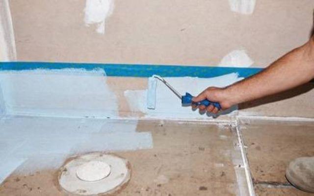 Dùng sơn chống thấm