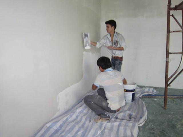 Chống thấm tầng hầm bằng sơn chống thấm