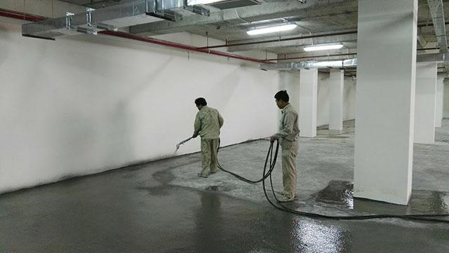 Chống thấm tầng hầm bằng phương pháp chống thấm ngược