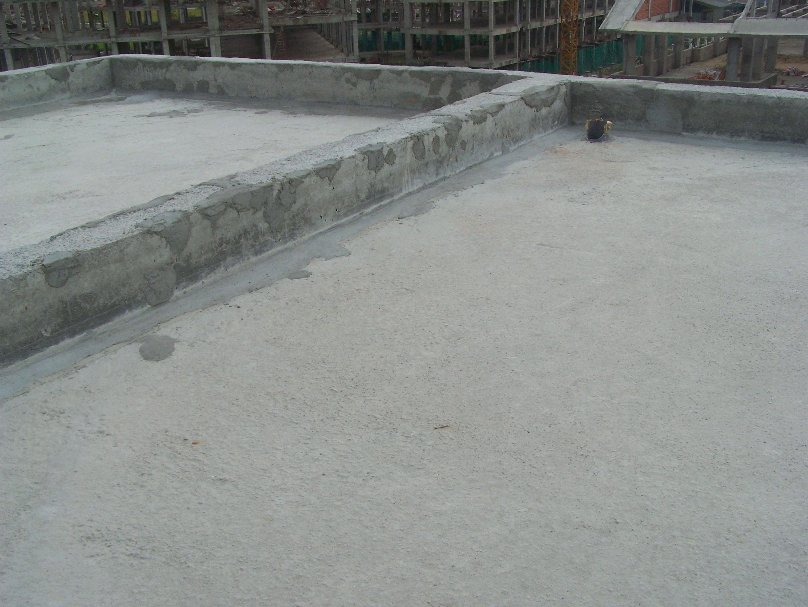 chống thấm sàn bê tông