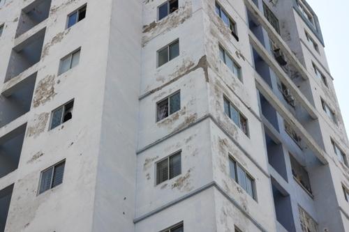 chống thấm dột khu tái định cư