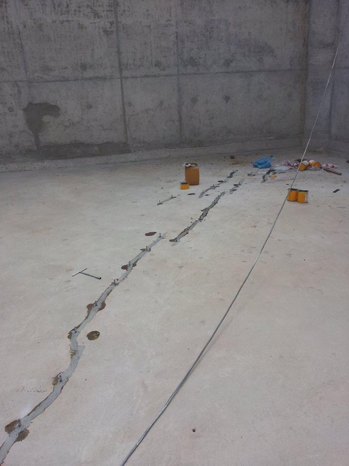 chống thấm vết nứt bê tông