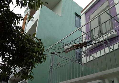 ốp tôn chống thấm tường nhà