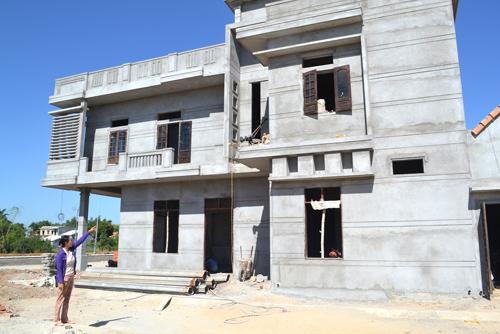 nhà mới xây