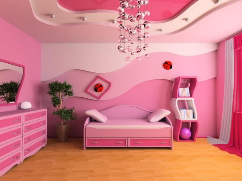 Sơn nhà màu hồng