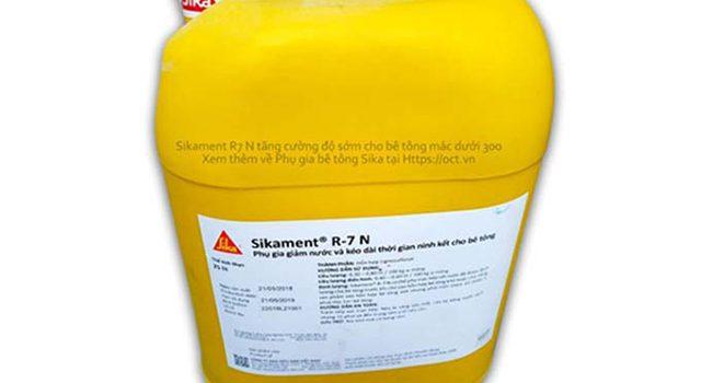 Phụ gia bê tông Sikament R7