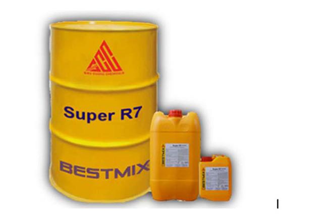 Phụ gia bê tông Super R7