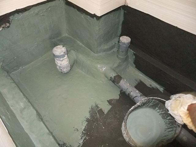 Quy trình chống thấm cho nhà vệ sinh sàn âm