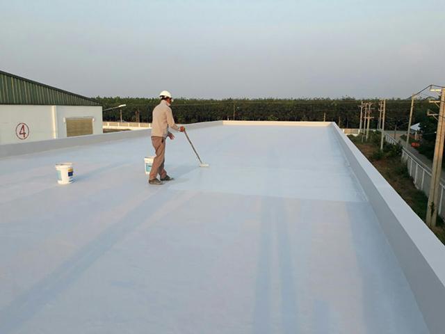 Top 4 vật liệu chống thấm sàn mái bê tông cực hiệu quả