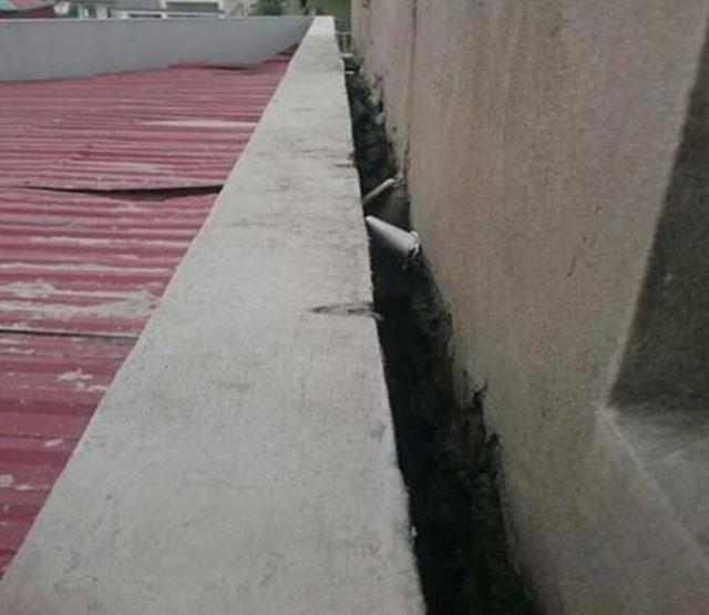 Nguyên gây bị thấm dột tường