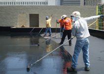 Cách xử lý chống thấm trần mái bê tông 1