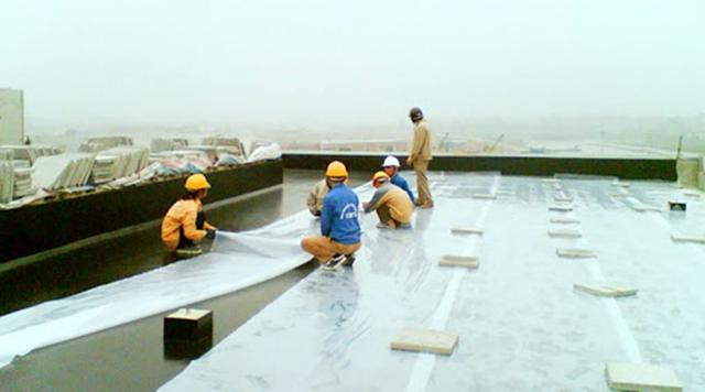 Các cách xử lý chống thấm trần nhà bê tông