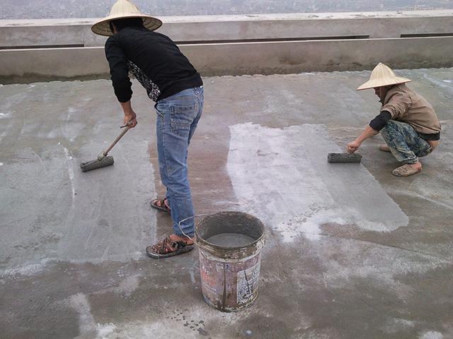 chống thấm sân thượng bằng sika 2