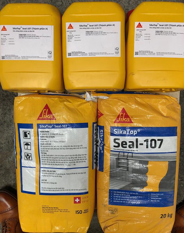 Vật liệu chống thấm gốc xi măng 2